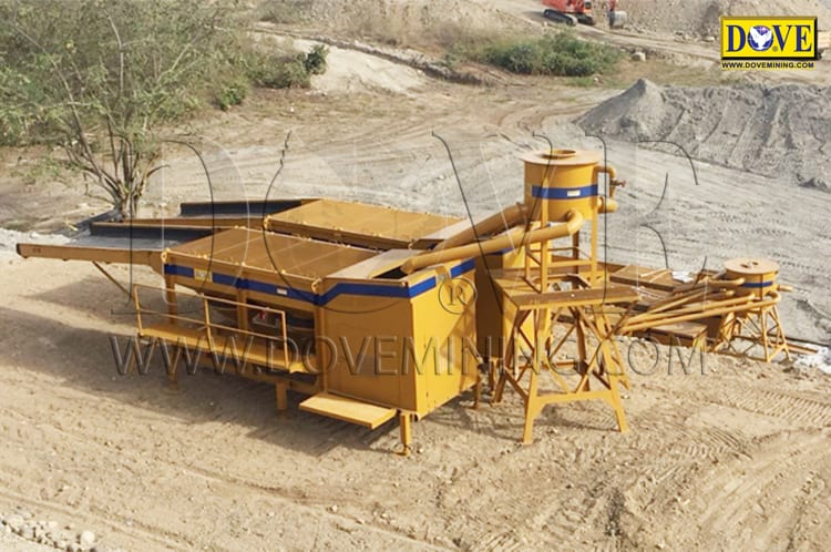 Gold wash plant for Colombia 2018
