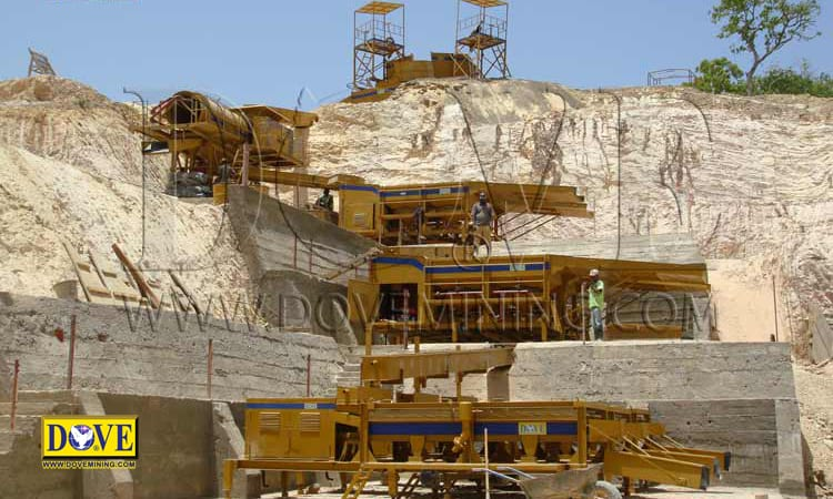 DOVE mining equipment and mineral processing plant