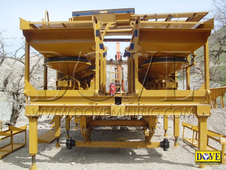 DOVE gold plant equipment