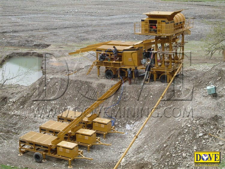 DOVE 150 TPH gold plant