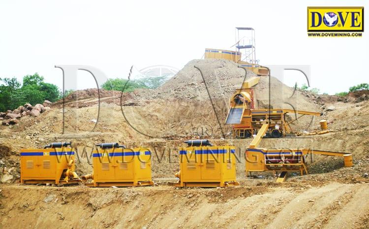 Alluvial gold mining Ethiopia