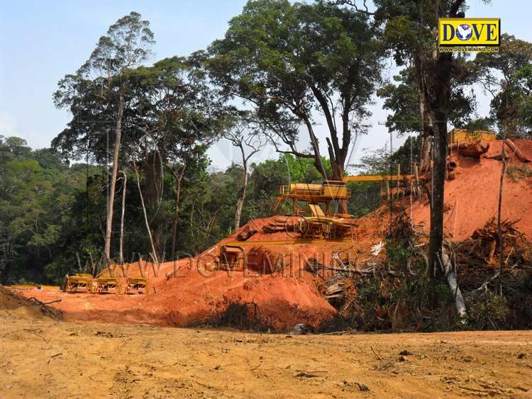 DOVE gold mining equipment for Ghana gold mining equipment for Ghana