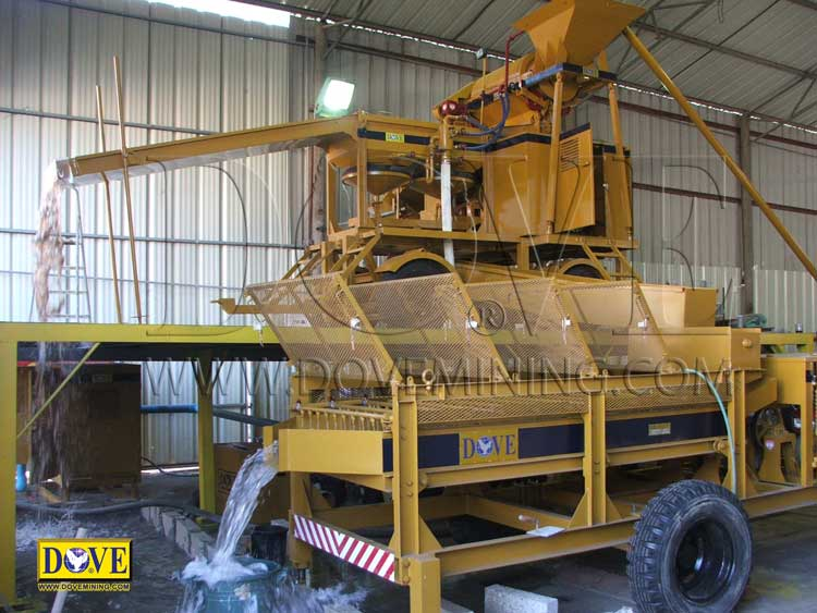 DOVE diamond mining equipment Israel