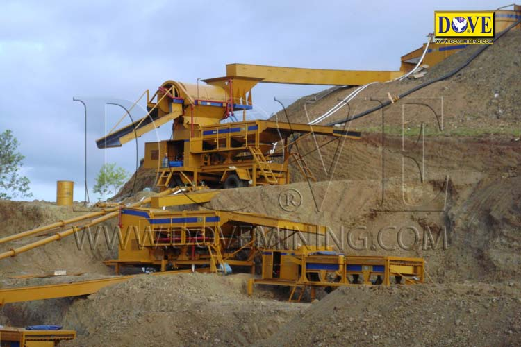 DOVE Gold mining equipment for Indonesia