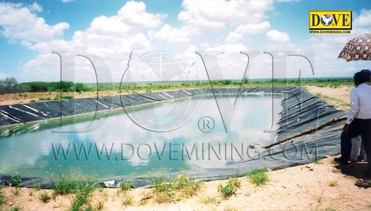 DOVE alluvial gemstones mining project in Kenia