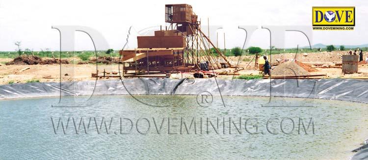 DOVE alluvial gemstones mining equipment in Kenia