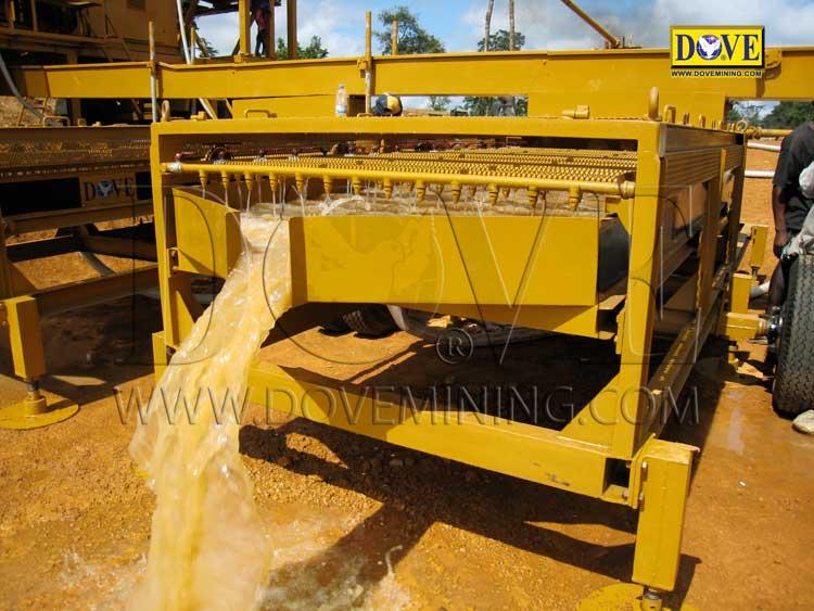 DOVE alluvial gold and diamond plant