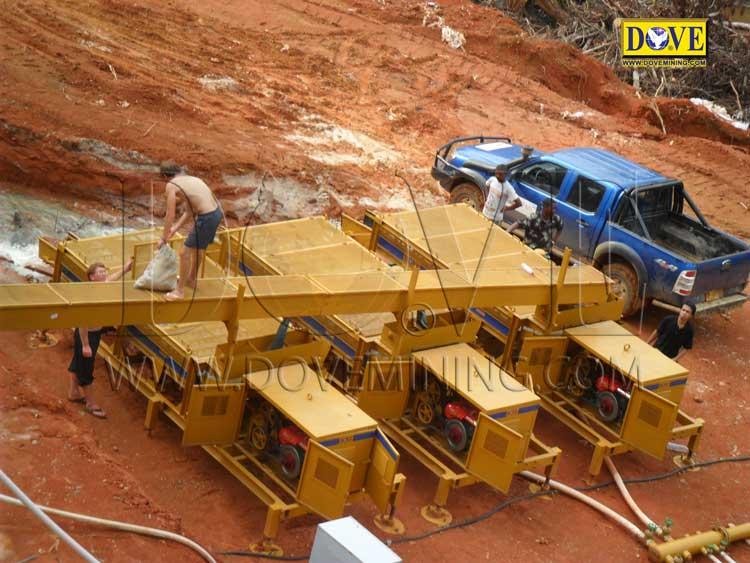 DOVE gold and diamond wash plant Liberia