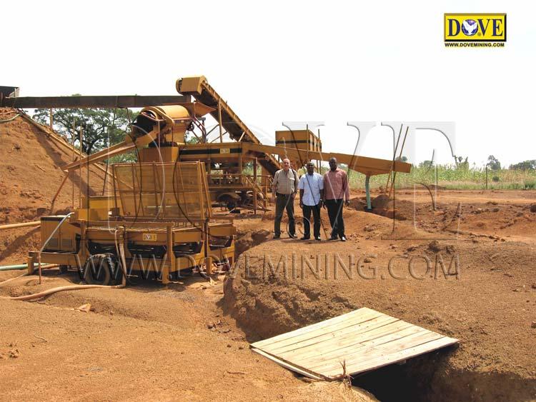 DOVE gold mining equipment in Nigeria