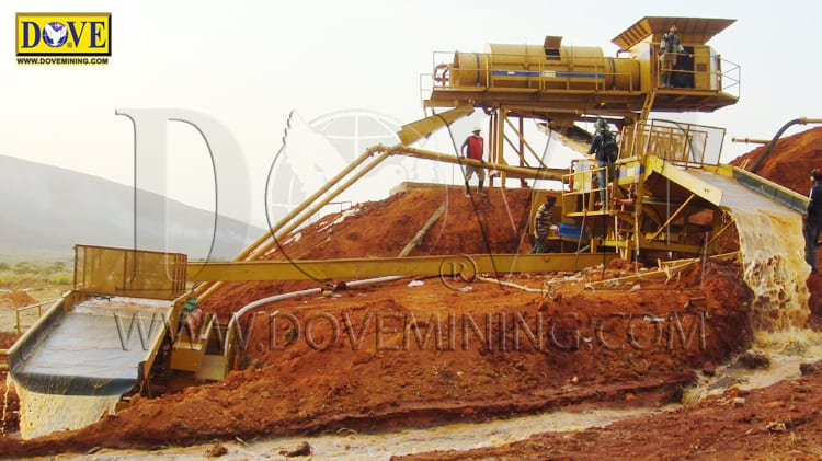 Nigeria alluvial gemstone mine 2018
