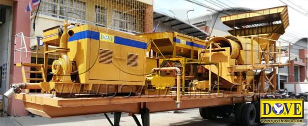 DOVE mobile processing plant (gold wash plant)