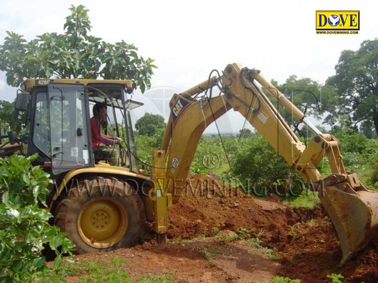 Gold and diamond mining project in Sierra Leone