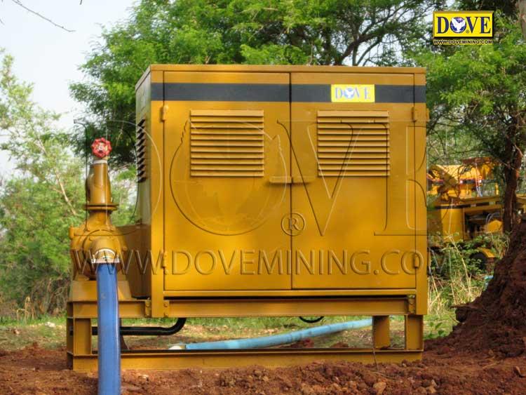 DOVE gold and diamond mining equipment in Sierra Leone