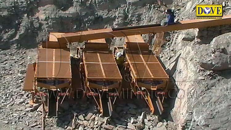 DOVE Alluvial gold mining plant Uganda