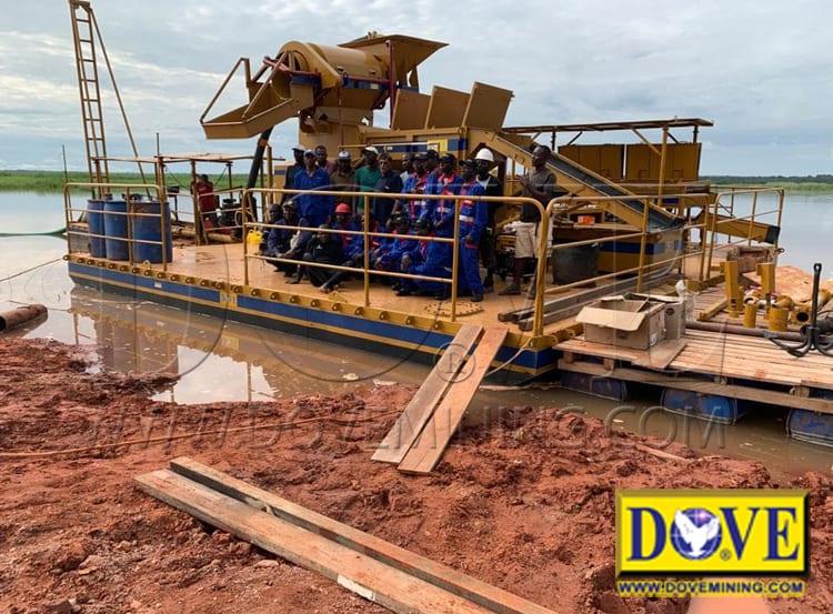 Angola Diamond River Mining 2019