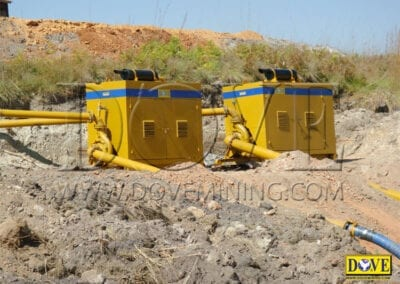 DOVE equipment for Alluvial diamond mining in Angola
