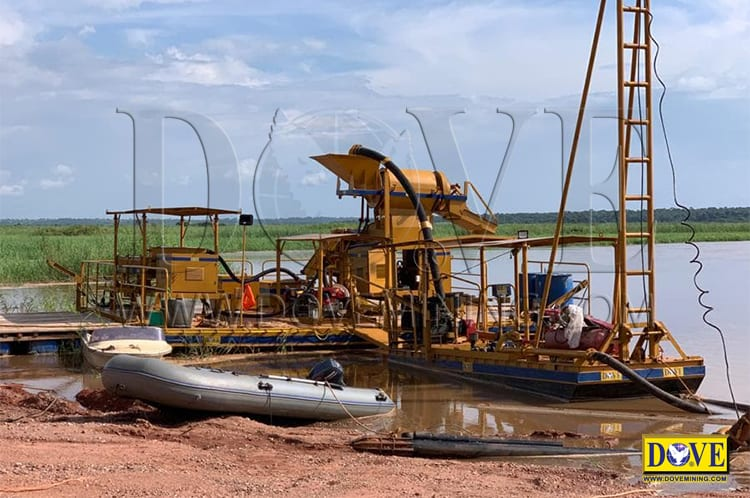 Angola Diamond River Mining