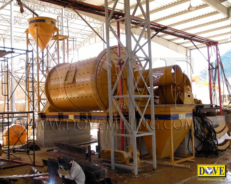 Mining equipment for DOVE Hard Rock Processing & Beneficiation Plant