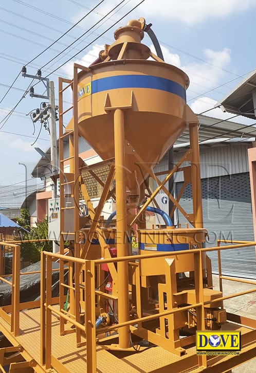 gold concentrator, DOVE factory