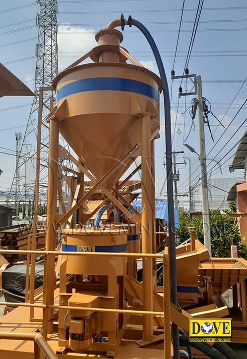 centrifugal gold concentrator, DOVE factory
