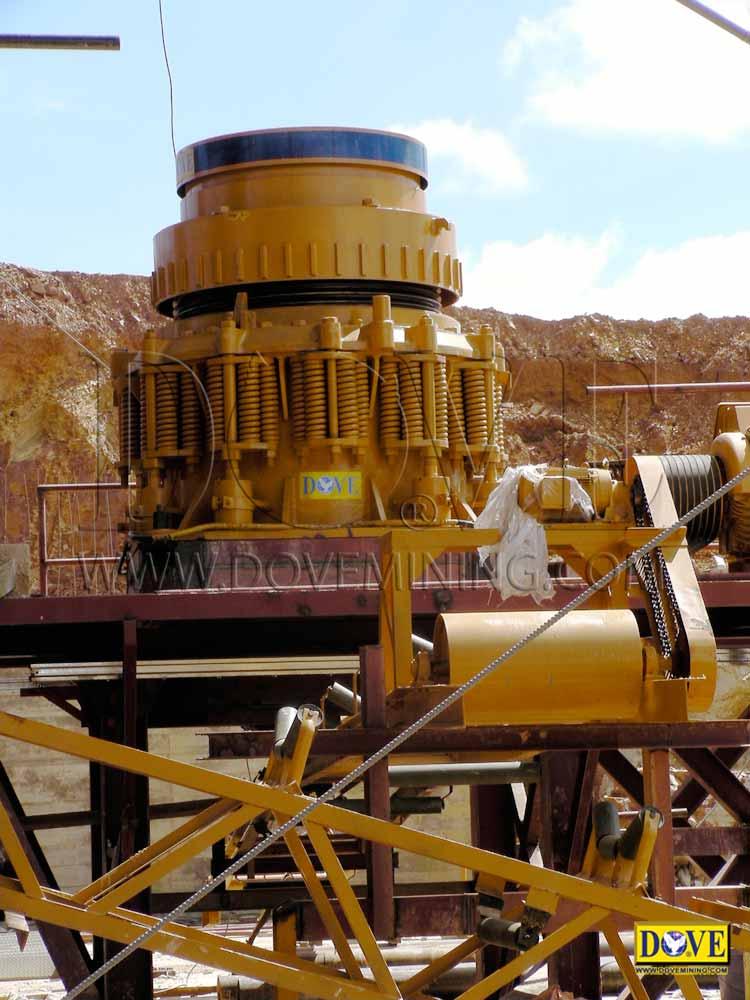 DOVE hard rock processing plant