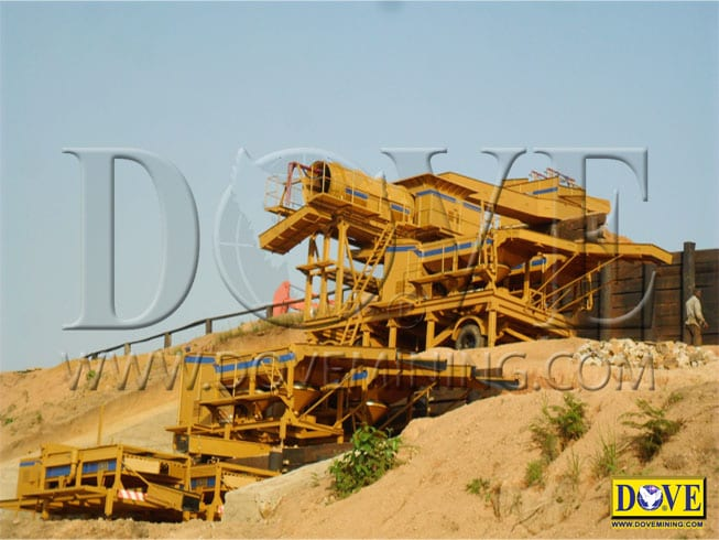 DOVE diamond mining equipment