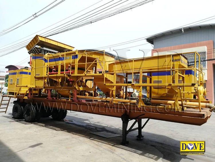 DOVE mobile plant