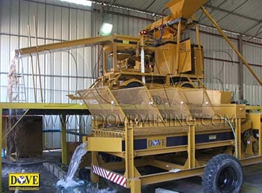 Diamond mining equipment supplied to Israel