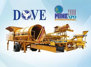 DOVE mining equipment poster for Minexpo In Las Vegas