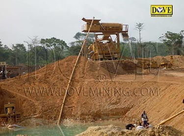 Gold and diamond processing plant in Liberia