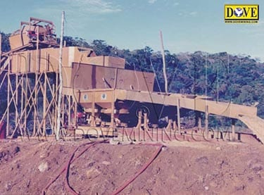 Processing plant for sapphire mining project in Madagascar