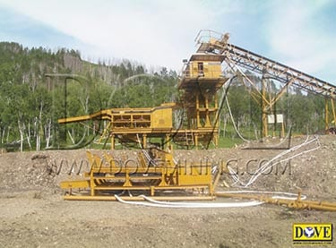 Gold Processing plant in Mongolia