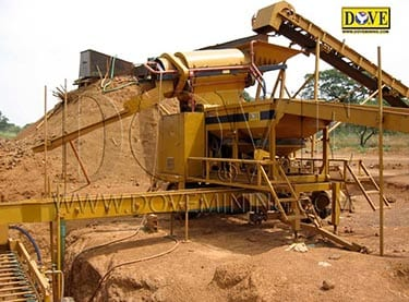 Gold processing plant in Nigeria