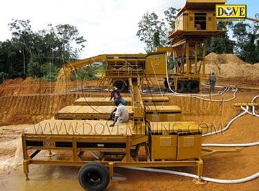 Gold and diamonds processing plant supplied to Sierra Leone