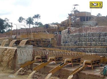 Gold and diamond processing plant in Sierra Leone
