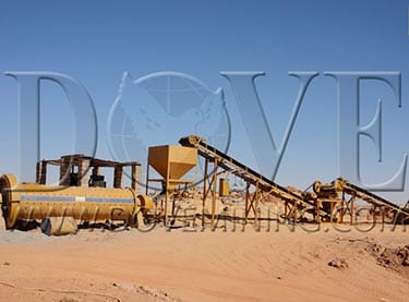 DOVE mineral processing plant in Sudan