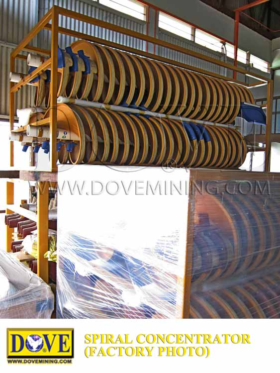 DOVE Spiral Concentrator