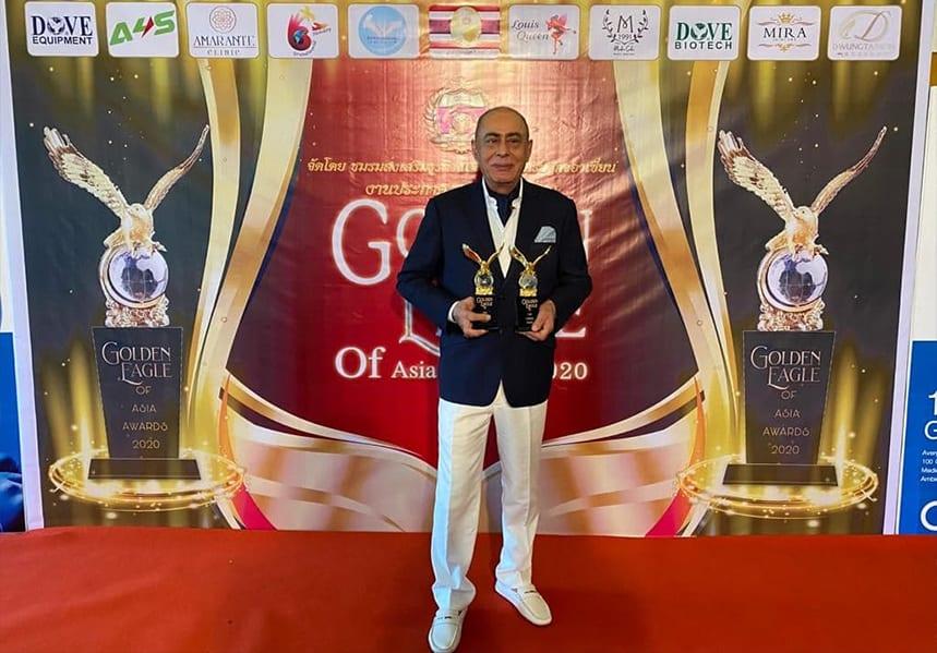 Golden Eagle of Asia Awards, Mr. Fillip Sharifi CEO