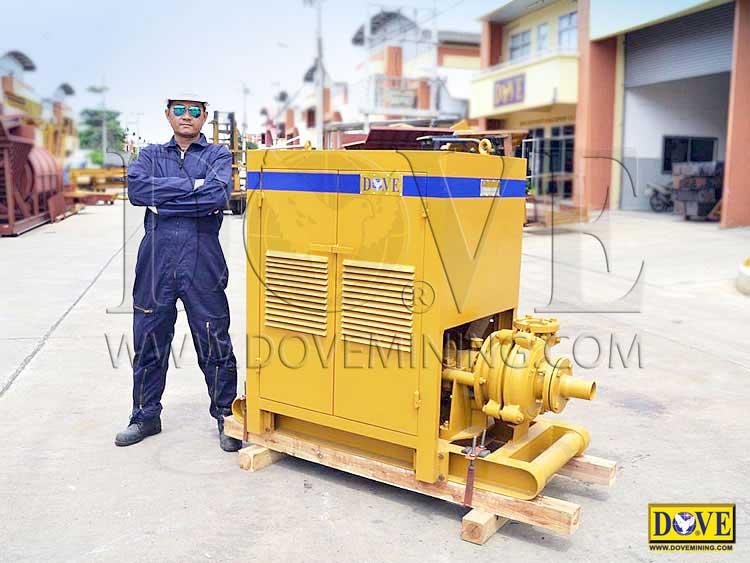 DOVE gravel pump, slurry pump
