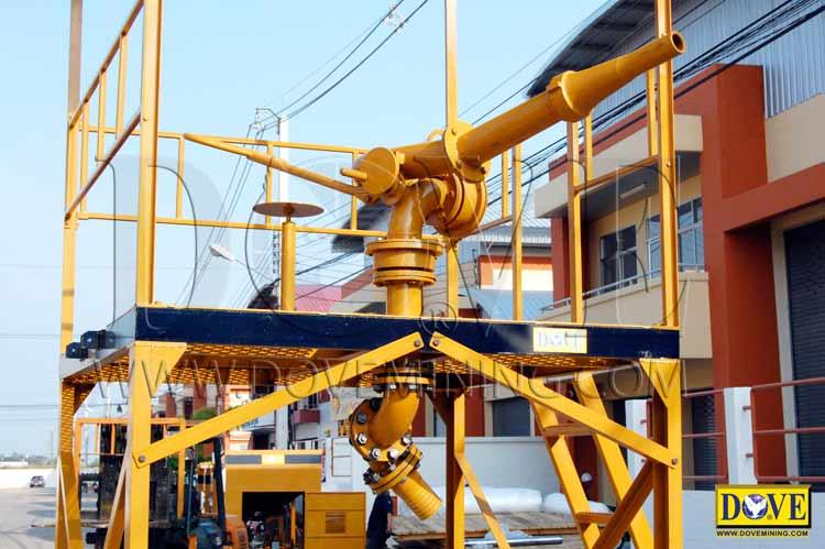 DOVE hydraulic cannon / hydraulic monitor