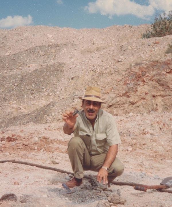 Mining precious stones in Tanzania