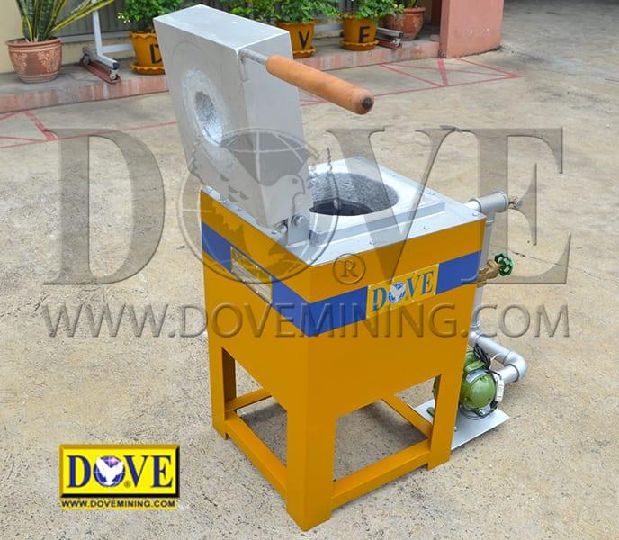 DOVE Smelting furnace factory photo