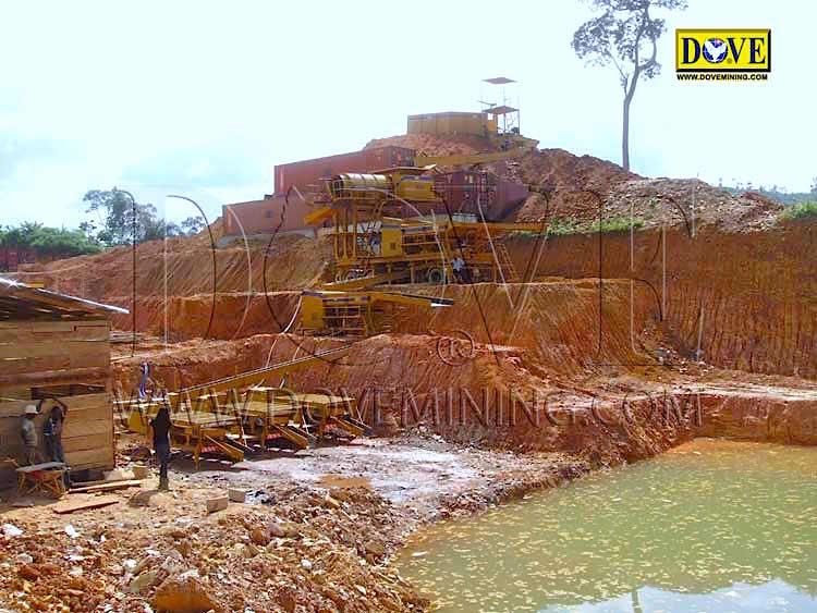DOVE gold mining equipment Ghana