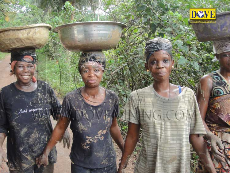 DOVE gold mining project Ghana