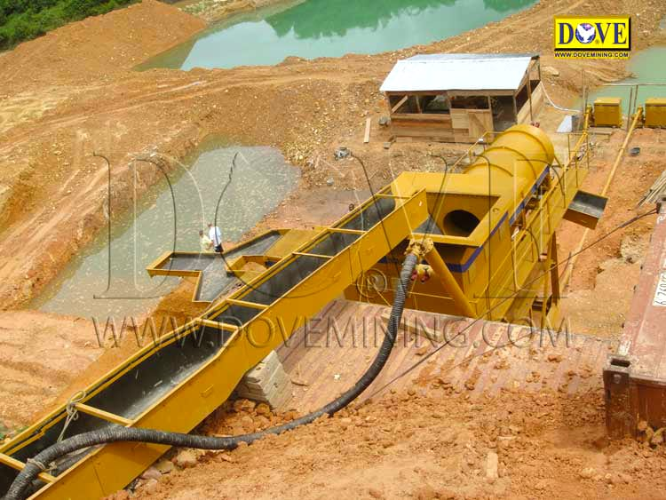 DOVE Gold Wash Plant Ghana 2006