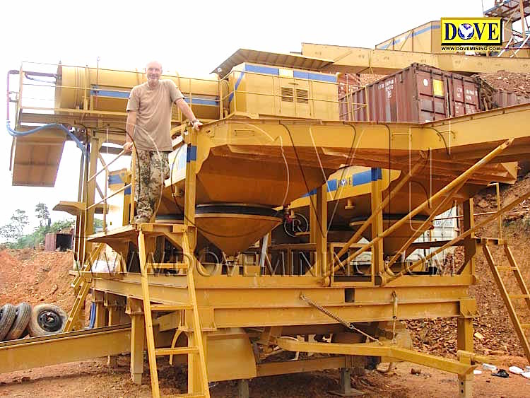 DOVE mining equipment Ghana 2011