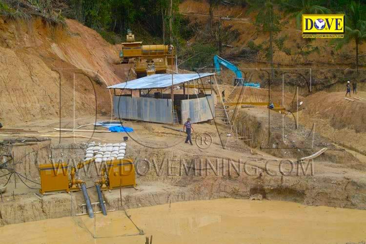 DOVE Alluvial gold plant Indonesia