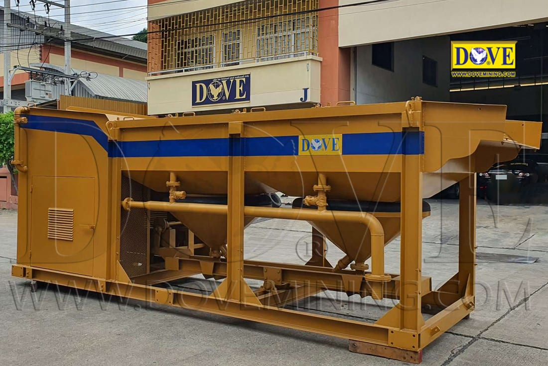 DOVE Jig Concentrator