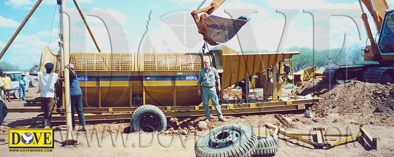 DOVE mining equipment in Kenia
