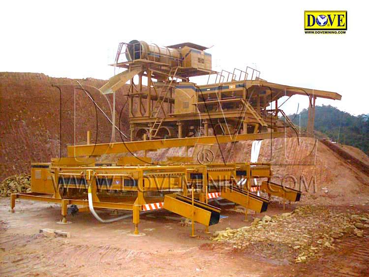 DOVE 150 TPH Gold wash plant